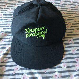 authentic newports pleasure dad hat